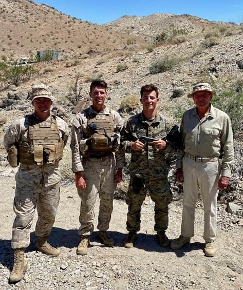 06/20 Taylor awardee, 2nd Lt Taylor Smith, USMC