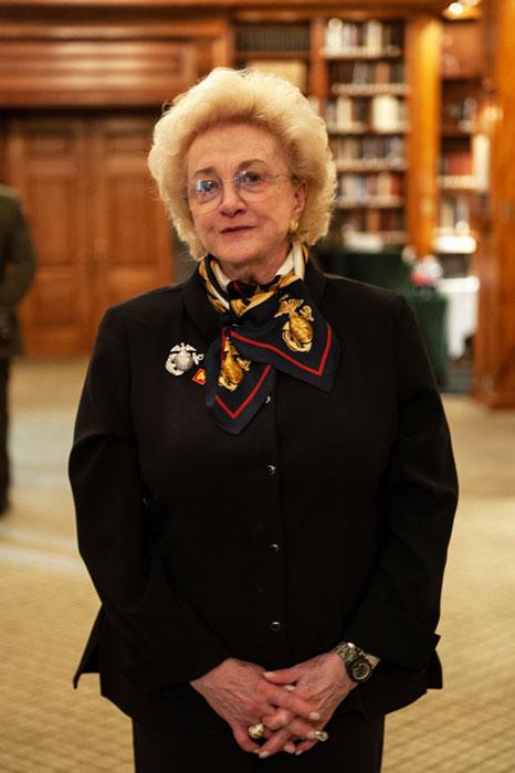 Mrs. Jordan Horner Saunders, the 2019 Major General John H. Russell Leadership Award Recipient.