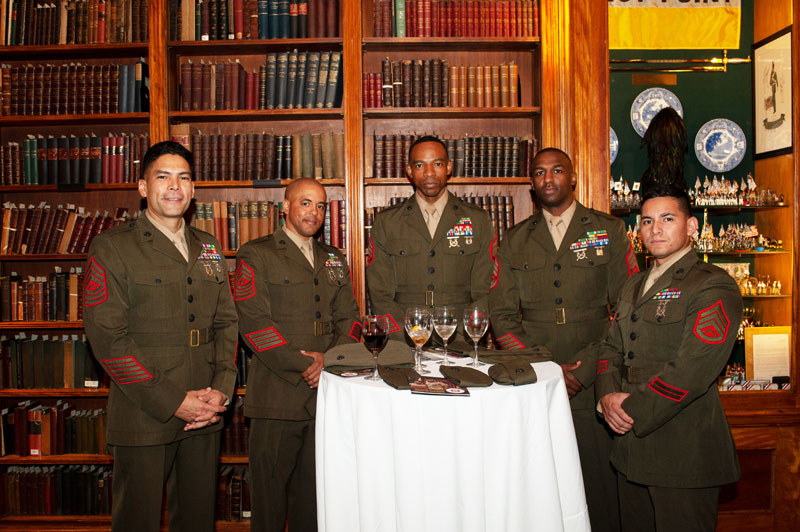 Marines at the Luncheon