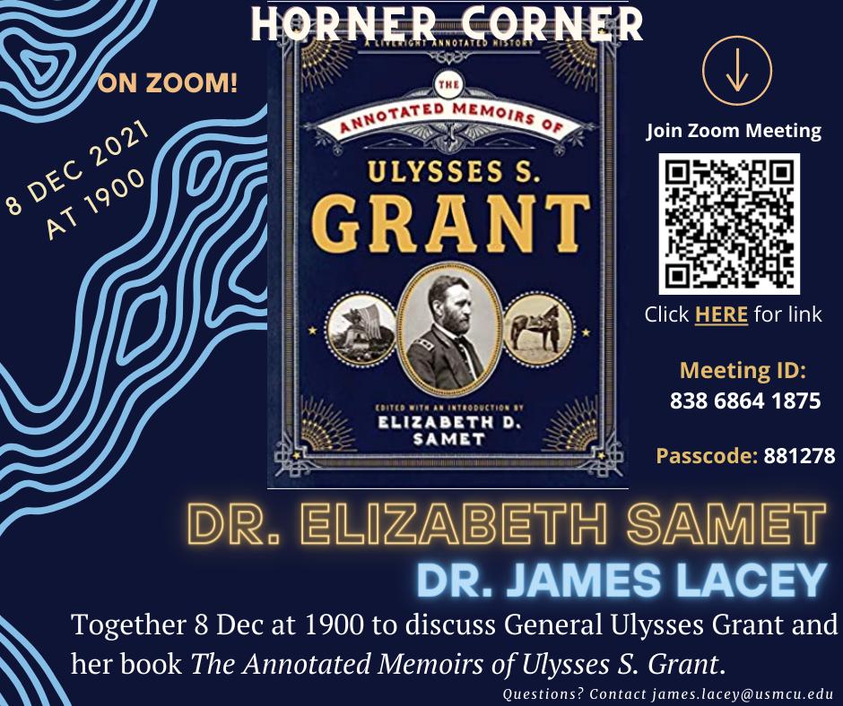 Upcoming Horner Corner, 8 Dec