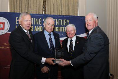 Mr. Joseph M. Murphy received The Major General John H. Russell Leadership Award