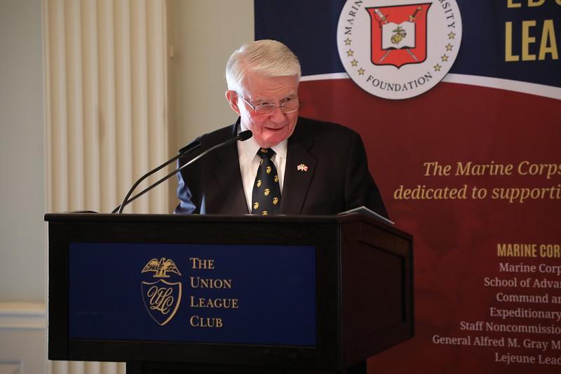 Mr. Joseph Murphy speaking at the Maj Gen John H. Russell Leadership Award Luncheon.