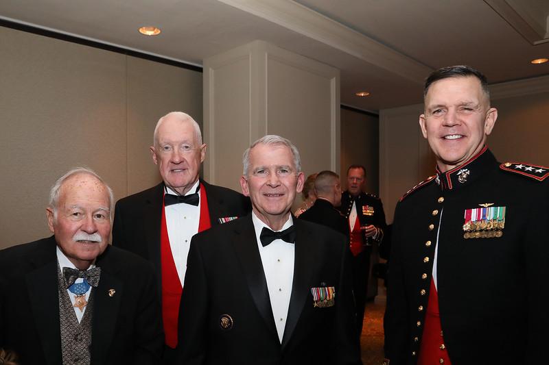 Distinguished guests at the 2019 Semper Fidelis Dinner