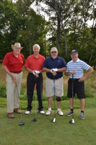 Team Brannon took second at the 2017 Semper Fidelis Golf Tournament