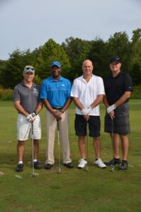 Team Murray took third at the Semper Fidelis Golf Tournament in 2017